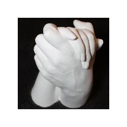 """Gipsabdruck """"Coupling hands"""""""