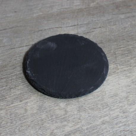 Schiefersockel rund für 3d Handabdruck oder Fußabdruck 10 cm