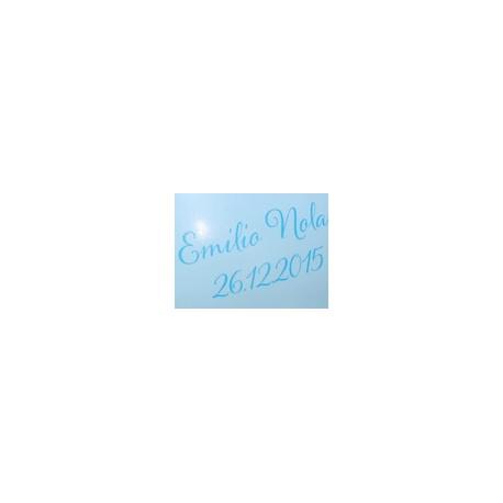 A4 Fototransferfolie transparent für Schriften auf Gipsabdruck, 1 Blatt