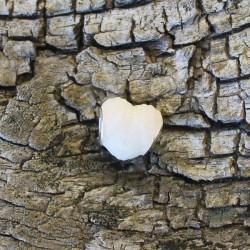 Muttermilch Großlochperle Engelsflügel Herz für Modularmband